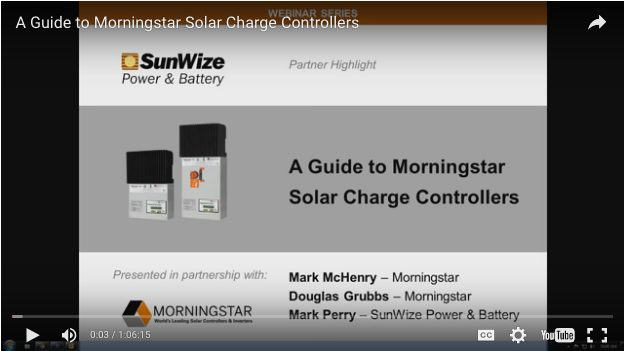 A Guide to Morningstar Solar Charge Controllers